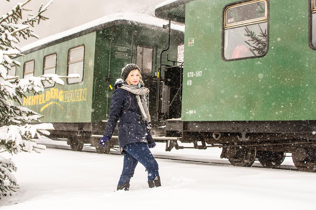 Erzgebirge, Winter, SchneeHalle (Saale), Leipzig, Peißnitz, Saale, City, Model, Fotografie, Photography