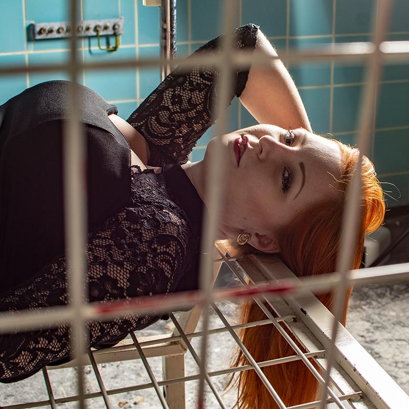 Lost Places-Shooting mit Emily, Fotograf Halle, Emily, Florian Endt, florianendt.photography